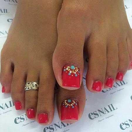 Toe Nail, Art Pedicures, Golden