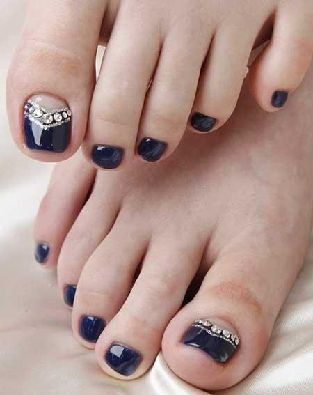 Toe Nail Toe, Easy Nail, Blue Toes, Art, Blue, Easy, Toes