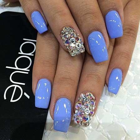 Cute Square Acrylic Nails