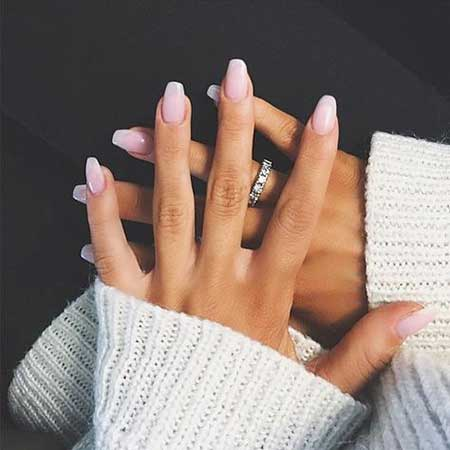 Nail Ring, Pink Nail, Makeup Rings, White Nail, Beautiful, Natural, White, Pink, Ring [