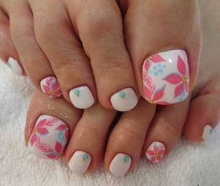Toe Nail Toe, Art, Pedicures,