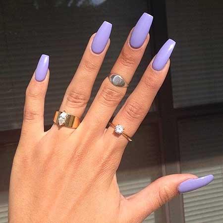 Nail, Black Nail, Stiletto White Nail, Black Stilettos, Rings, Coffin Purple