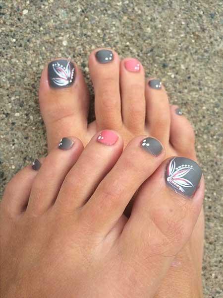 Toe Nail Art, Summer Nail, Pretty Toes, Toes, Toenail