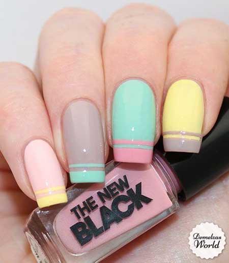 Pastel Nail, Opi, Polish, Nail Polish, China Glaze, Pink, Swatch, Pastel [