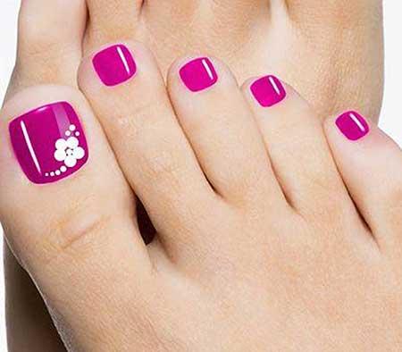 Toe Nail Pink, Toe, Pink toe nail