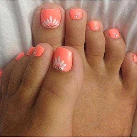Toe Nail, Pink, Toe, Pedicures, White