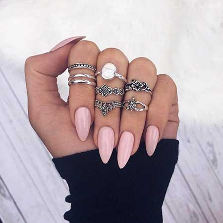 Nail Ring, Rings, Midi Rings, Knuckle Rings, Stiletto Summer Midi