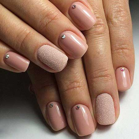 Nail Pretty Nail, Nude Manicures, Pink, Beige, Natural, One