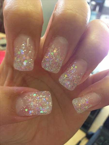 Glitter, Glitter Nail, Sparkle, Pink, Beautiful
