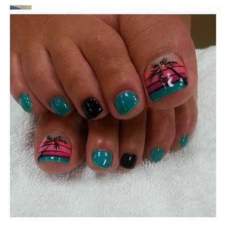 Toe Nail Toe, Art, Toe, Pedicures Toenail