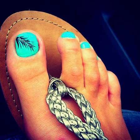 Toe Nail, Feather Nail, Toe, Feathers, Summerfeather, Toe
