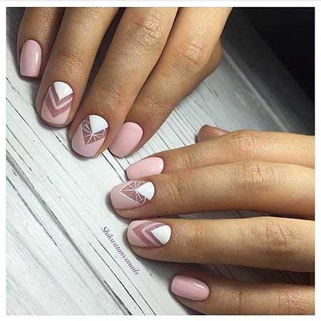 Manicures, Art, Pink Wedding White Nail, Summer Silver, White, Pink, Wedding
