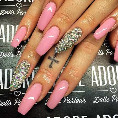 Nail, Pink, Laquenailbar Getlaqued, Ps, Laquenailbar, Acrylic Cof