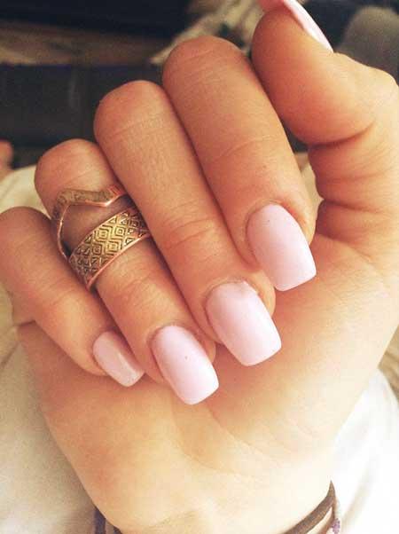 French Manicure, Pinkwedding Manicures, Pink, French, Square, Wedding, Idea, Acrylics