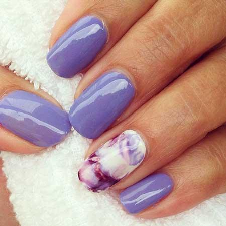 Ombre Nail, Ombré Pretty Nail, Polish, Nail Polish, Summer Purple, Ombre