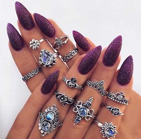 Rings, Nail Ring, Coffin Stilettocoffin, Ring, Stiletto, Girl