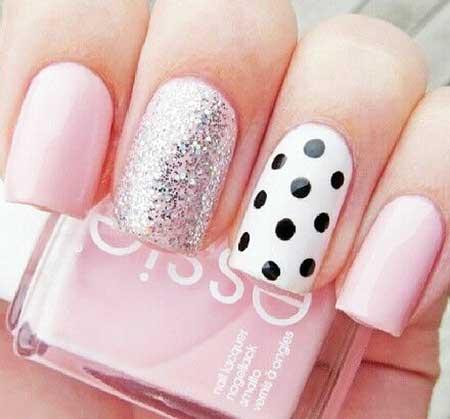 Polka Dots, Pretty Nail, Pink Pink, Dot, Polka, Ly