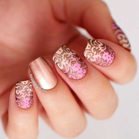 Nail, Romantic Art, Pinkstamps, Pink, Heart, Show, S