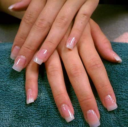 French, Manicures, Shellac, Gel, French Manicure, Gel Acrylics, Natural [