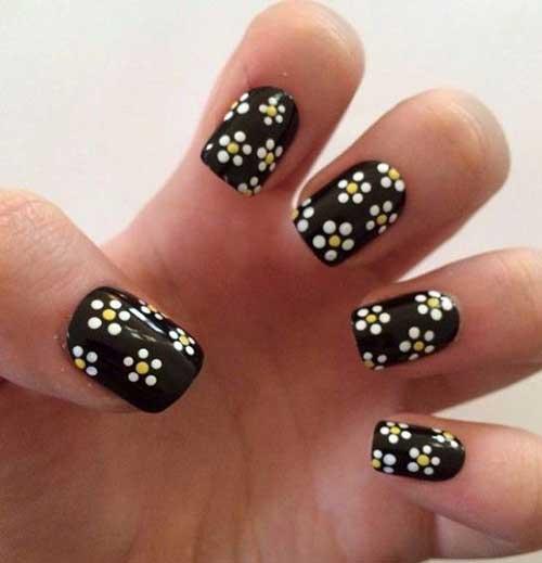 Black Nail Designs-10