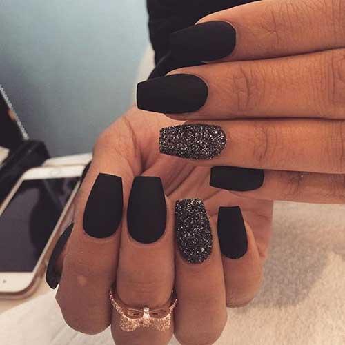 Black Nail Designs-14