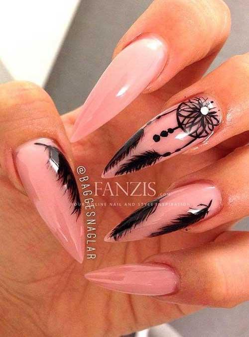 Very Long Nail Designs-6