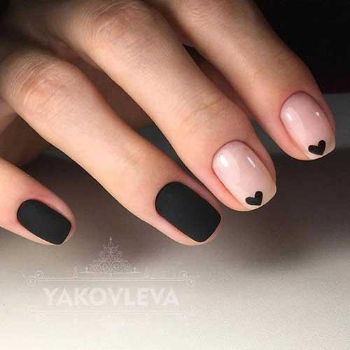 Black Nail Designs-7