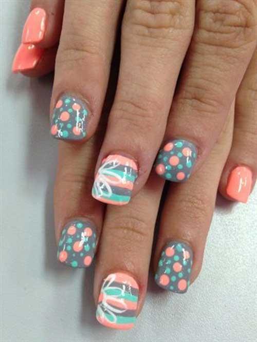Multi Color Nail Arts