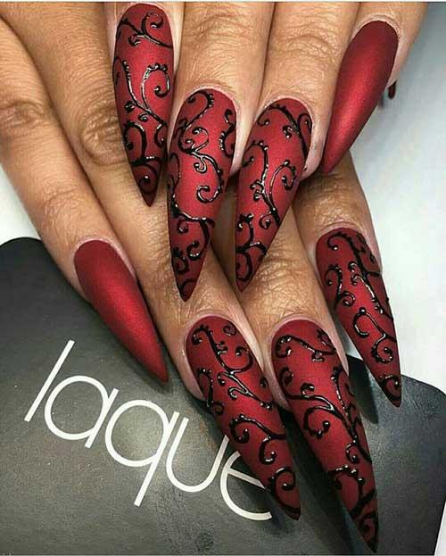 Very Long Nail Designs