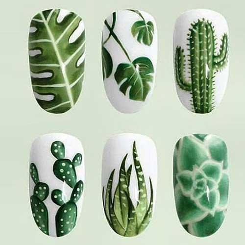 2017 Green Nail Designs