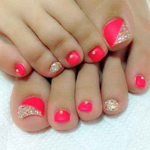 Cute Toe Nail Designs-8