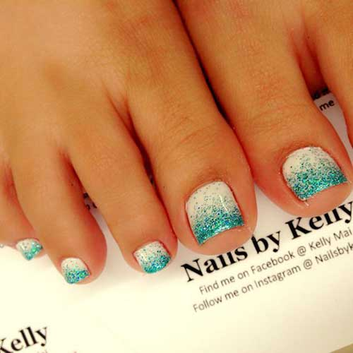 Cute Toe Nail Designs-9