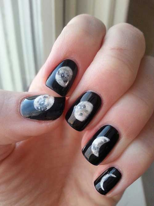 Nail Designs with Stickers-9