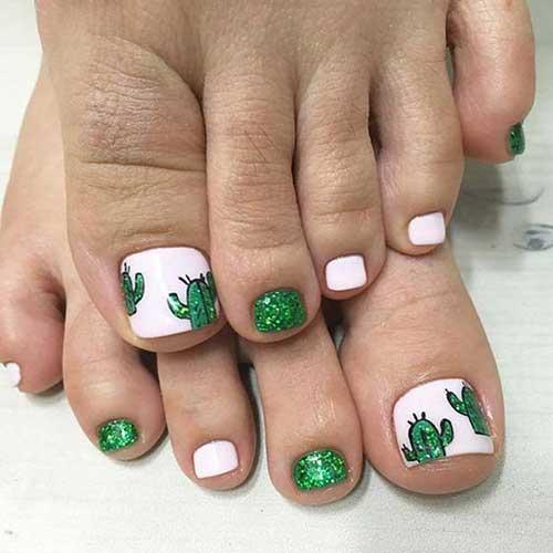 Cute Toe Nails Nail Art Designs 2017