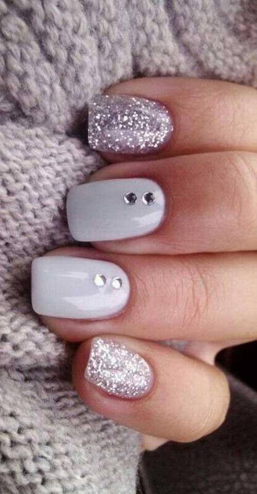Glittered Nail Art Designs-10