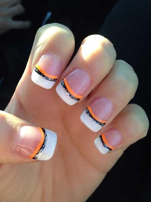 Glittered Nail Art Designs-12