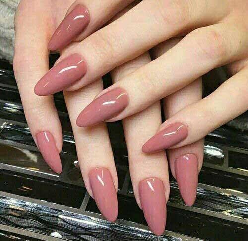 Almond Shape Nail Designs-13