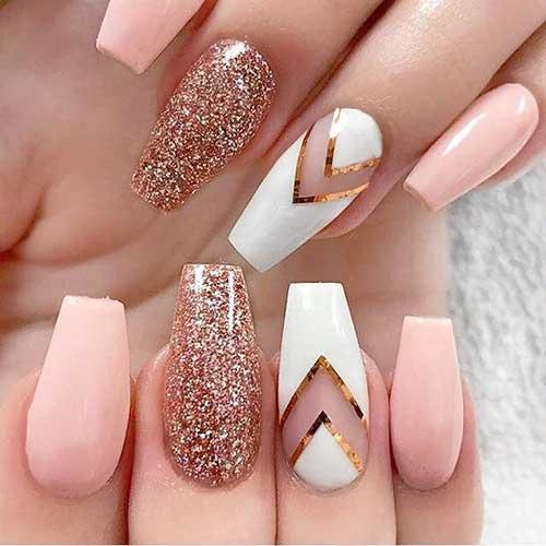 Glittered Nail Art Designs-15