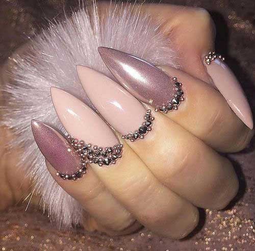 Nude Nail Designs-6
