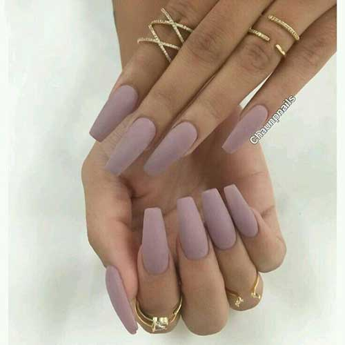 Coffin Nail Styles