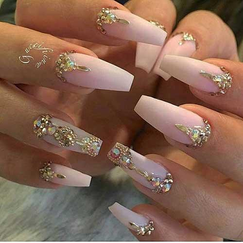 Glittered Nail Designs