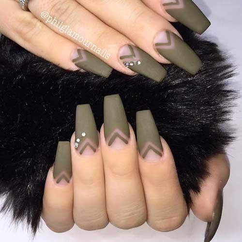 Matte Nail Art Designs