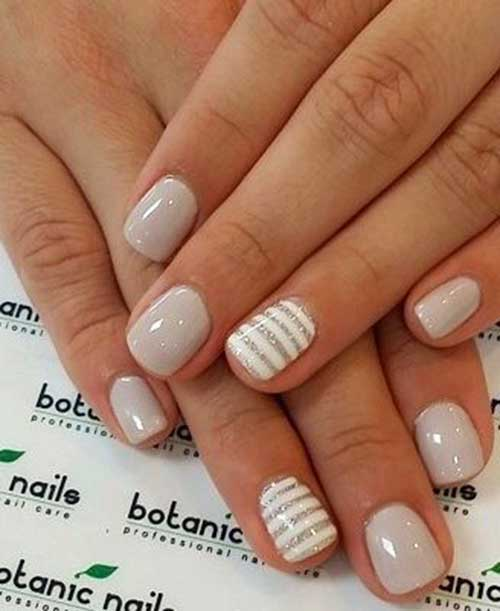 Nude Colored Nail Designs