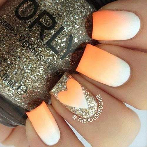 Ombre Colored Nail Designs-10