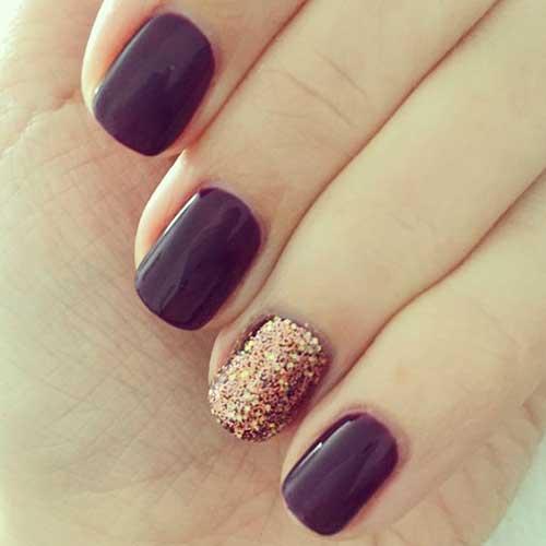 Glittered Nail Designs-12
