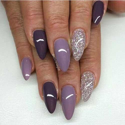 Almond Shape Nail Arts-13