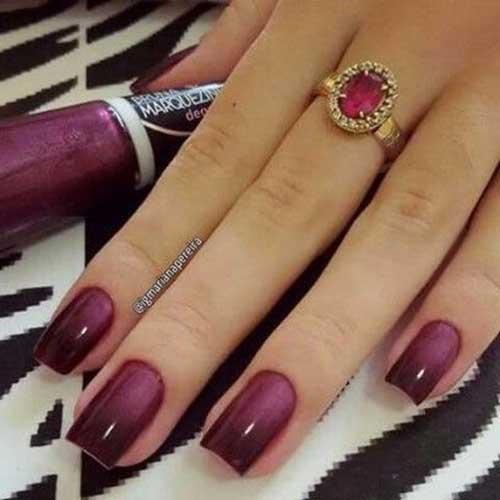 Ombre Colored Nail Designs-14