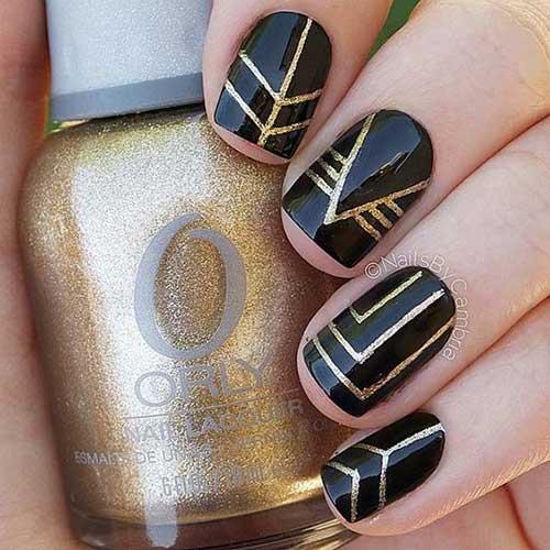 Geometric Nail Designs-17