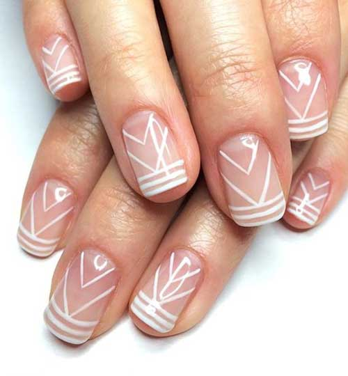 Geometric Nail Designs-6