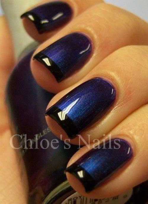 Glittered Nail Designs-6